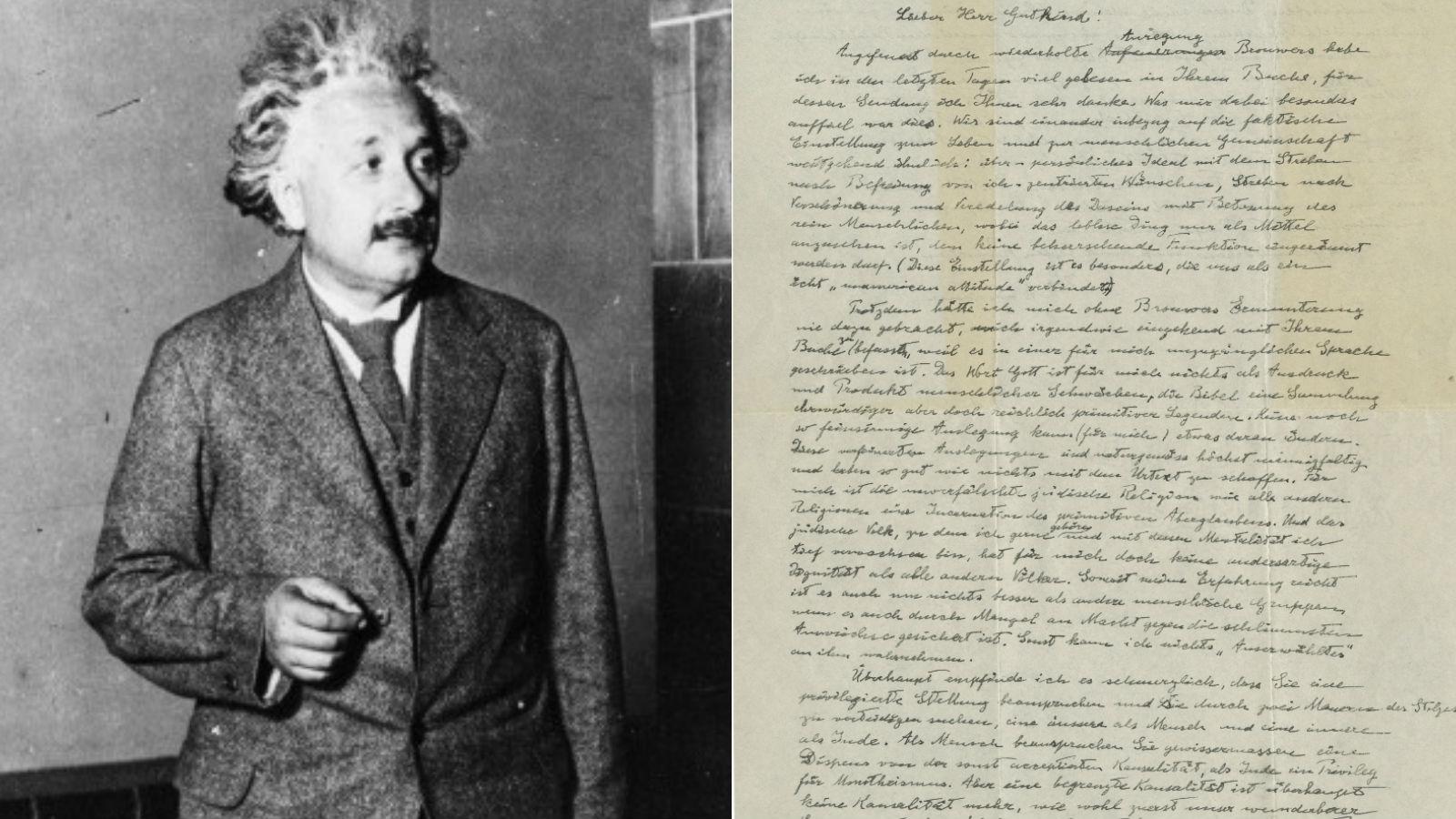 Egy olyan Einstein kéziratot árvereznek, amelyben a fizikus a relativitáselméletet készítette elő