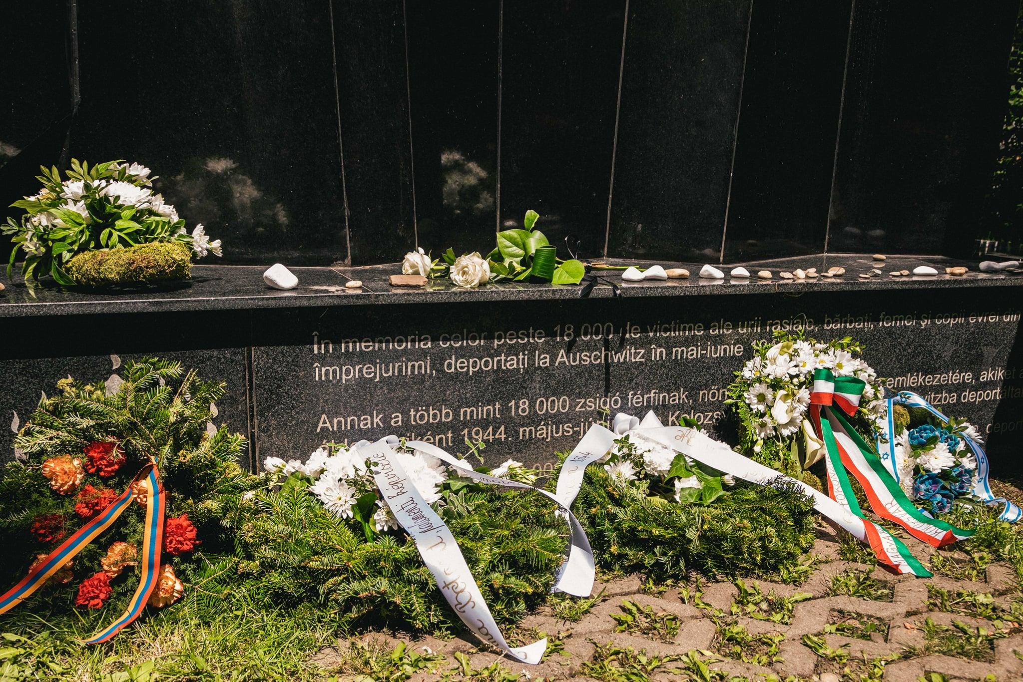 Kolozsvár haláltáborokba deportált zsidó lakosságáról emlékeztek meg