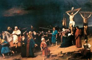 A magyar kormány megvásárolta Munkácsy Golgota címû festményét