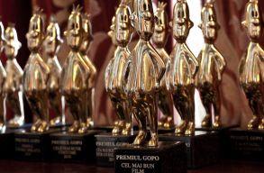 Kiosztották Bukarestben a Gopo-díjakat