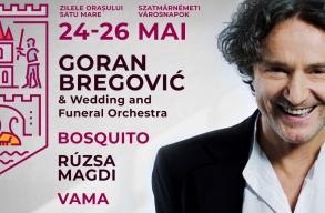 Goran Bregovic és Rúzsa Magdi is fellép majd a Szatmárnémeti Városnapokon