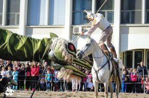 A sárkány legyõzésével és koncerttel rajtolt a 28. Szent György-napok