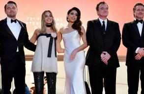 Hosszú perceken keresztül tapsolták Tarantino legújabb filmjét Cannes-ban