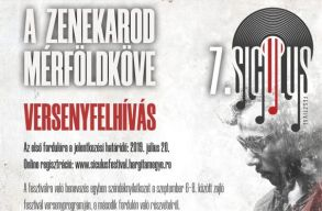A 7. Siculus zenei fesztivál versenyfelhívása erdélyi magyar zenekaroknak
