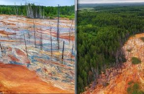 Narancssárga folyók miatt indítottak vizsgálatot az orosz hatóságok