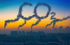 Rekord-alacsony volt 2020 elsõ felében a szén-dioxid-kibocsájtás