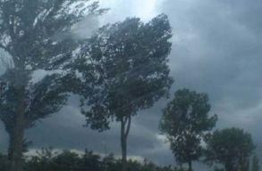 Vasárnap délután erõs szél várható Szilágy, Szatmár, Arad, Bihar és Temes megyében