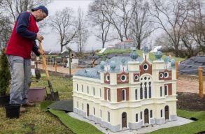 A szatmárnémeti zsinagóga is makettet kap a Mini Magyarország makettparkban