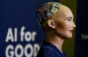 A világon elõször kapott állampolgárságot egy robot