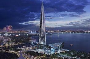 Hamarosan elkészül Európa legmagasabb épülete