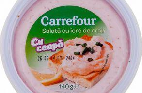 Listeria baktériummal fertõzött ikrasalátát és humuszt von vissza a piacról a Carrefour