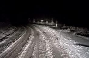 Havazott az éjszaka a Bucsin-tetõn