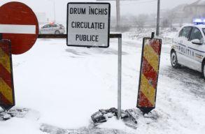 A havazás miatt Székelyföldön is be kellett vetni a katonai tûzoltóságot