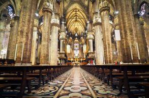 Allah akbart kiáltott egy részeg román férfi egy olaszországi templomban