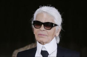 Elhunyt Karl Lagerfeld divattervezõ