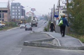 Háromsávosra szélesítik a Békási utcát Kolozsváron
