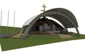 Közzétették a felújított Hármashalom-oltár látványtervét