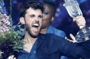 Hollandia gyõzött az izraeli Eurovíziós Dalfesztiválon