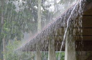 Sárga riasztást adtak ki 32 megyére a várható viharok miatt