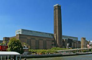 A Tate Modern volt a leglátogatottabb turistalátványosság tavaly Angliában