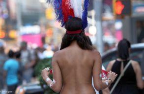 Hat amerikai államban is járhatnak már a nõk félmeztelenül az utcákon