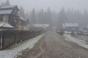 Havazott a Radnai-havasokban
