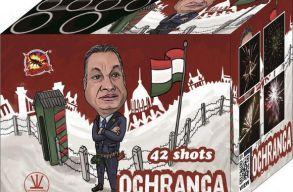Orbán Viktor karikatúrával reklámozza tûzijátékát egy szlovák cég