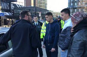 Evakuálták egy londoni állomás környékét, mert egy román fiatal otthagyta az autóját