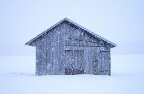 Erõs szélre, hóviharokra figyelmeztetnek a meteorológusok