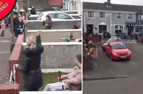 Az írek kitalálták hogyan bulizhatnának úgy, hogy ne szegjenek szabályt, ne fertõzzenek és mégis közösségi életet éljenek