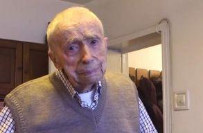 Elhunyt Dumitru Comãnescu, a világ legidõsebb férfija