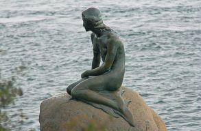 Lerasszistázták a kis hableányt Koppenhágában