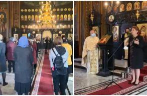 Breaking: egy ortodox templom lelkésze orvost hívott a liturgiára, hogy az oltásról beszéljen