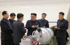 Nem atombombát, hanem annál jóval erõsebb hidrogénbombát robbantott Észak-Korea
