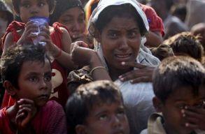 A rohingya népcsoport 150 ezer tagját üldözték el Mianmarból