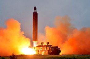 Észak-Korea újabb rakétát lõtt Japán felé, összehívták az ENSZ Biztonsági Tanácsát