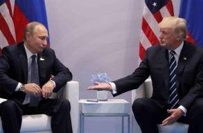 Kreml: az amerikaiak rugalmatlansága miatt maradt el a Putyin-Trump különtalálkozó