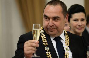 """Elmenekült a szakadár Luhanszki Népköztársaság """"elnöke"""""""
