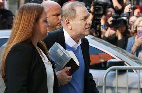 Feladta magát a rendõrségen Harvey Weinstein