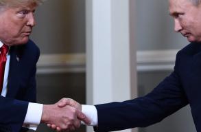 Megtörtént a várva várt Putyin - Trump csúcstalálkozó