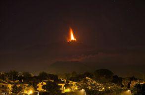 Megint kitört az Etna