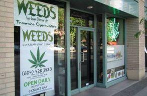 Egy nap alatt kiürült a kanadai marihuána boltok többsége