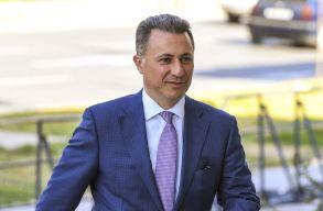 Gruevszki elismerte: megkapta a politikai menedékjogot Magyarországon