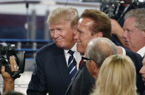 Schwarzenegger jiddisül hülyézte le Trumpot