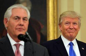 Trump butának és lustának nevezte egykori külügyminiszterét