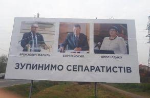 Megtalálták a magyarellenes plakátok feltételezett megrendelõjét Kárpátalján