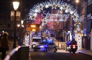 Lövöldözés volt kedd este Strasbourg belvárosában