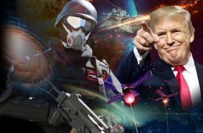 Trump aláírta az ûrhadosztály fõparancsnokságáról szóló rendeletet