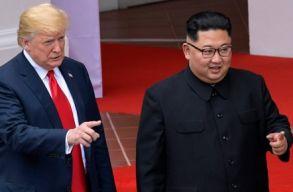 Trump a következõ csúcstalálkozó helyszínérõl egyeztet Kim Dzsong Unnal