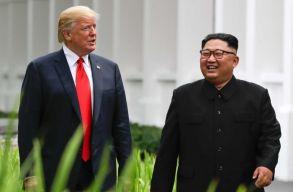 Február végén találkozik újra Donald Trump és Kim Dzsong Un